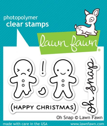 LF0983 S ~ OH SNAP ~ CLEAR STAMPS BY LAWN FAWN
